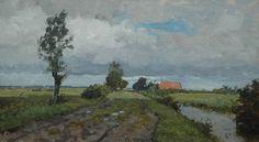 Willem Bastiaan Tholen - Landschap bij Kampen 1921