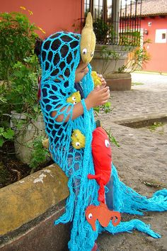Halloween Costume: The Ocean by lachapina, via Flickr