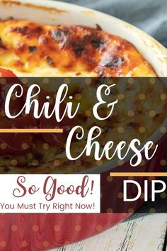 CHILI CHEESE DIP RECIPE – So Simple Even Your Picky Kids Can Do It. Cream Cheese and Chili Dip. I have been making this Cream Cheese and Chili Dip dip for the last 15 years. Takings it to almost every potluck (bring a dish) event, church dinner, birthday party, baby shower, family reunion, or other event I've had to attend. It is truly my go-to recipe. I have even made it for the kids after school snack.