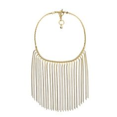 Michael Kors Gold Fringe Bib Necklace Beautiful gold fringe necklace by Michael Kors. Perfect accent for a girls' night out outfit or holiday party! Michael Kors Jewelry Necklaces