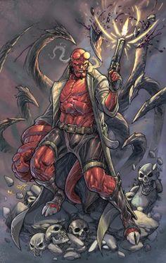 Hellboy by Paolo Pantalena