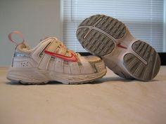 136fe38af542 Girls Toddler Nike White Pink   Silver Running Shoes Size 6C  17.88 Toddler  Nikes
