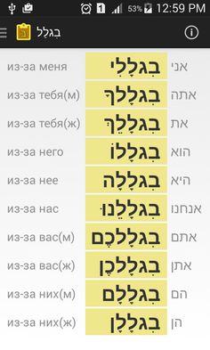 Мобильные приложения для изучения иврита