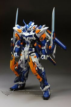 GUNDAM GUY: Gundam Astray Blue Frame Ver. TM - Customized Build via PinCG.com