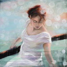Nærmere maleri av Tina Tobiassen - GalleriEKG.no Figurative, Cinderella, Disney Characters, Fictional Characters, Disney Princess, Anime, Art, Abstract, Art Background