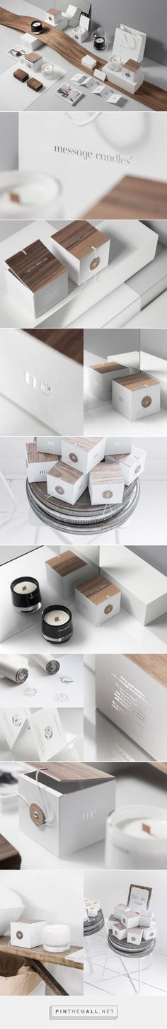 Message Candles - Packaging of the World - Creative Package Design Gallery - http://www.packagingoftheworld.com/2016/01/message-candles.html - created via https://pinthemall.net: #candledesign