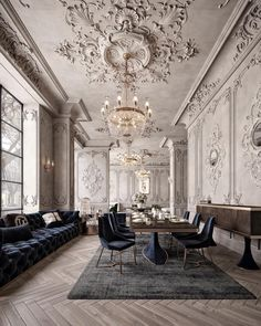 Home Interior Modern Showroom Interior Design, Ikea Interior, Luxury Interior Design, Home Design, Interior Architecture, Interior Decorating, Architecture Company, Neoclassical Interior Design, Architecture Baroque
