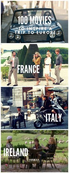Movies to inspire a trip to Europe!