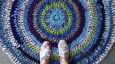 Happy Rag Rug.