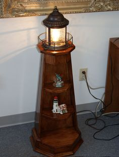 wooden lighthouse free plans - Google Search