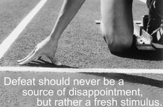 Defeat should never be a source of disappointment but rather a fresh stimulus. Truth.  #Inspiration #Fitness #Workout #Weight_loss