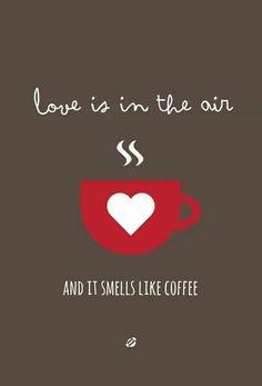Coffee, the love of my life! ❤☕⭐