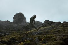 Dominik Smialowski casts a skyfarer in the vast green and lush Icelandic landscape with his The Pilot's Melancholy.