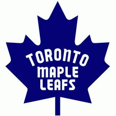 Toronto Maple Leafs Primary Logo - National Hockey League (NHL) - Chris Creamer's Sports Logos Page - SportsLogos. Nhl Hockey Teams, Hockey Logos, Nhl Logos, Hockey Mom, Ice Hockey, Sports Logos, Hockey Girls, Sports Art, Sports Teams