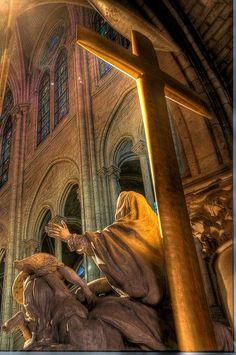 Altar, Notre Dame, Paris by jandarmor, via Flickr