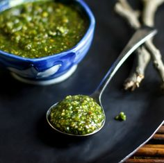 Thai Basil Pesto | turns plain rice and noodles into a Thai treat | #vegan, #glutenfree and #cleaneating friendly