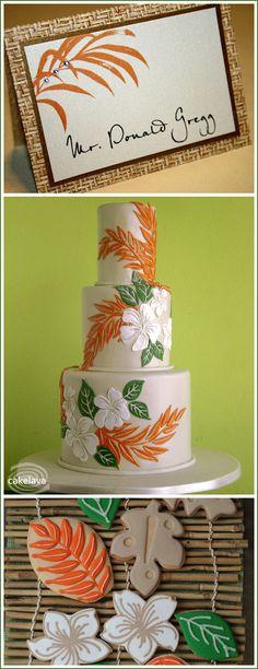 Hawaiian Cake & Cookie Inspiration