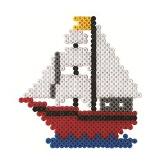 Boat hama beads