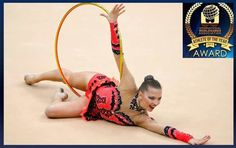 """Melitina Staniouta from Belarus is another nominee on our category """"Athlete of the Year 2013"""" .The gymnast won 2 golds and silver medal in RG last summer at the World Games 2013 in Cali,Colombia."""