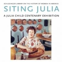 Siting Julia: Julia Child Centenary Exhibition at Schlesinger Library, Harvard, Cambridge, Ma. Terrific exhibit and great fun to see Julia's typescripts for her TV programs, notes, changes, cross outs and all.