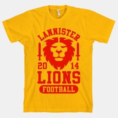 Lannister Lions Football