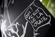 Caroscope - Showroom Novoceram #showroom #scenographie #craie #chalkboard #carrelage http://www.novoceram.fr/blog/scenographies/caroscope
