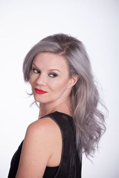 Roux Fanci-Full Temporary Hair Color: The Granny Grey Trend! Prime Beauty Blog
