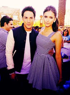 Michael Trevino And Vanessa Hudgens