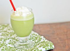 "Matcha Green Tea Shakes - especially the local ones from the Mocha Lounge.  I need to learn how to make them at home.  I bought some matcha green tea - but that doesn't work.  You need to buy the ""mix"" which is sweetened quite a bit, of course!  I added sugar to my Matcha Tea but that didn't work as well as the pre-mixed powder that the Mocha Lounge uses.  Good to know that they sell the mix!!!"