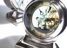 Clear Dial Desk Clock - Ethan Allen