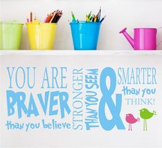 lola decor  - great quote from winnie the pooh! vinyl decals rock!