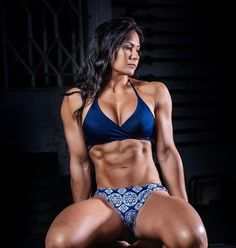 A picture of Katie Cork. This site is a community effort to recognize the hard work of female athletes, fitness models, and bodybuilders. Toned Women, Fit Women, Ripped Girls, Fitness Motivation Pictures, Gym Motivation, Muscular Women, Muscle Girls, Fit Chicks, Athletic Women