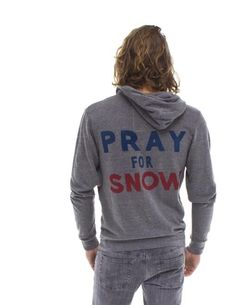 Pray For Snow Hoodie by Aviator Nation