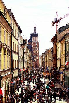 Krakow ulica Florianska