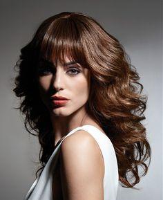 Alexandre de Paris Long Brown Hairstyles