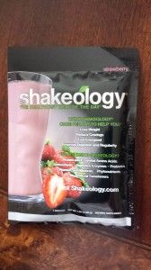 Strawberry Shakeology, my review.
