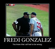 I was glad Fredi was in his face on that call!  He's not out there enough...
