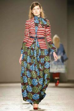 Mis Queridas Fashionistas: Stella Jean Ready To Wear Fall/Winter 2014&Detailed photos - Milan Fashion Week