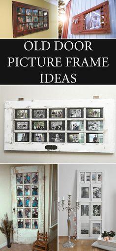 old door picture frame ideas - Door Picture Frame