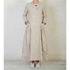 Nancy Coat, Linen - Cabbages and Roses