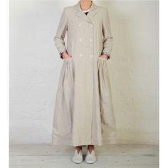 Nancy Coat, Linen - Jackets & Coats - Fashion