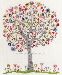 Shop online for Love Tree Cross Stitch Kit at sewandso.co.uk. Browse our great range of cross stitch and needlecraft products, in stock, with great prices and fast delivery.