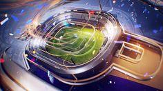 'Sport 1 HD' channel styleframes|Art director- Ilya Shakhray