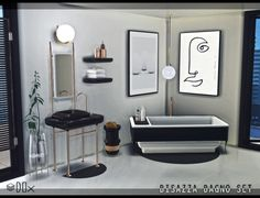 Bathroom Collection (P) at DOX • Sims 4 Updates