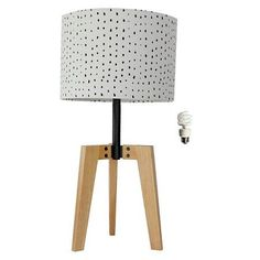 Threshold™ Wood Table Lamp Shade - CA Version - White : Target
