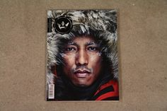 Pharrell Williams cover in Highsnobiety Magazine issue 5 - available in Berlin
