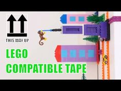 NIMUNO LOOPS - LEGO® COMPATIBLE TAPE IS HERE - YouTube