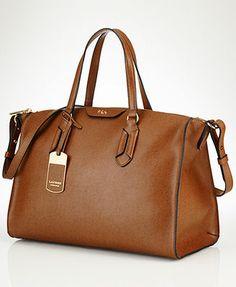 637d3199659 Lauren Ralph Lauren Tate Convertible Satchel.  228.00 Ralph Lauren Bags, Ralph  Lauren Handbags,