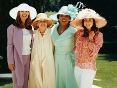 Fancy Hat Tea Party Bridal Shower! such a fun idea!!! Sundresses required too
