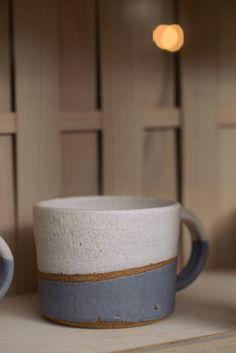 The beautiful crackle top mug by deVOL